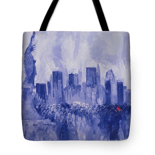 NYC Tote Bag by Bayo Iribhogbe