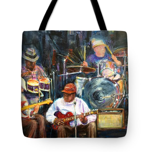 Nyc Blues Tote Bag