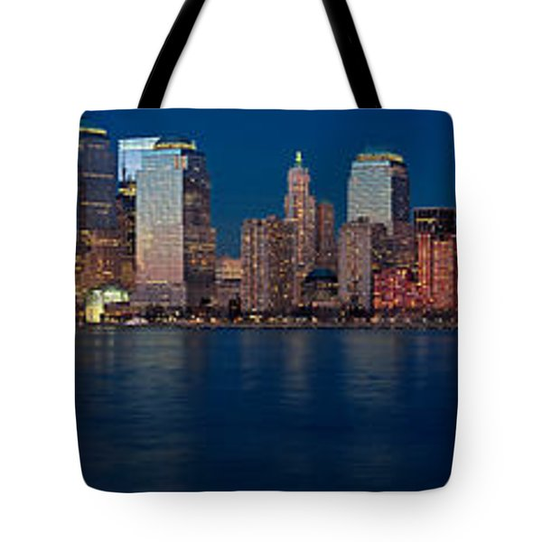Tote Bag featuring the photograph Nyc Pano by Jerry Fornarotto