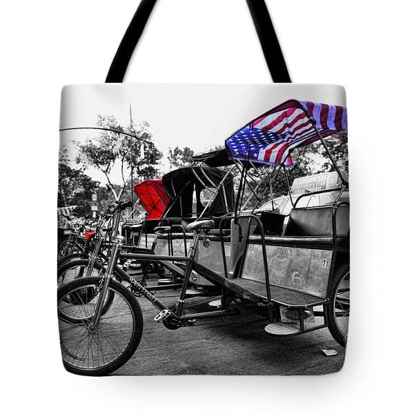 New York Taxi Street City Canvas Wall Art Picture Print Va: Nyc Pedicabs Photograph By Paul Ward