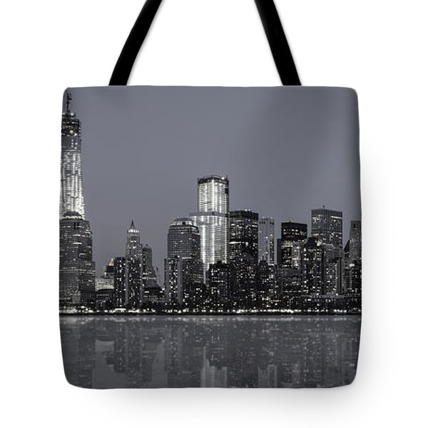 Nyc Skyline Tote Bag