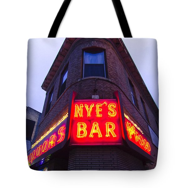 Nye's Bar By Day Tote Bag