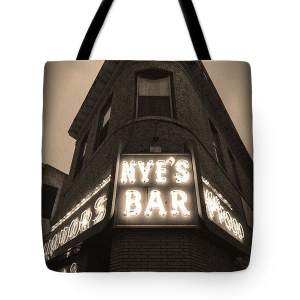 Nye's Bar Sepia V.2 Tote Bag