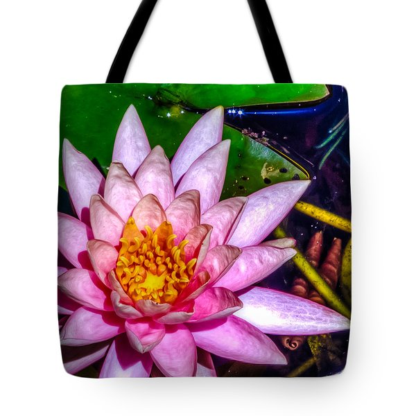 Tote Bag featuring the photograph Nymphaeaceae by Rob Sellers