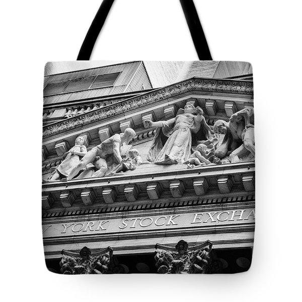 Nyse Tote Bag