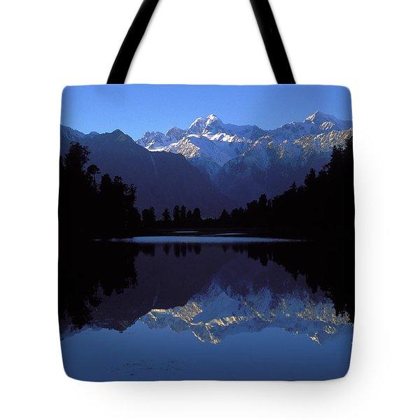 New Zealand Alps Tote Bag
