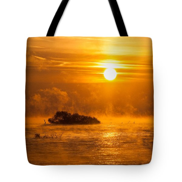 O Happy Day Tote Bag by Davorin Mance