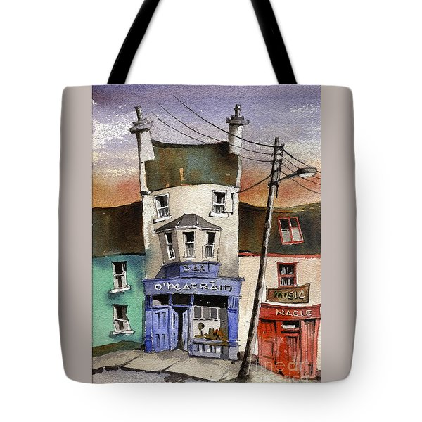 O Heagrain Pub Viewed 115737 Times Tote Bag
