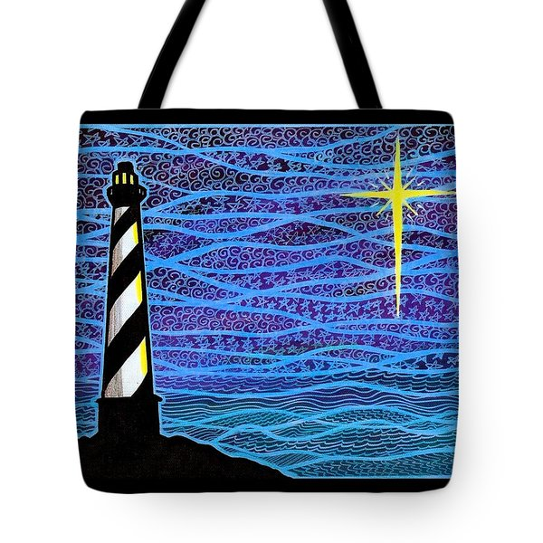 O Holy Night Hatteras Tote Bag by Jim Harris