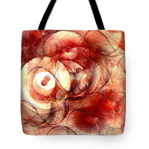 O Positive Tote Bag by Anastasiya Malakhova
