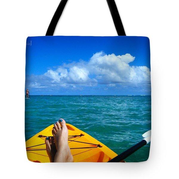 Oahu Toes Tote Bag