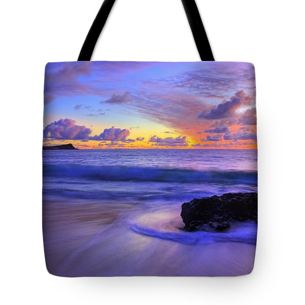 Oahu Sunrise Tote Bag