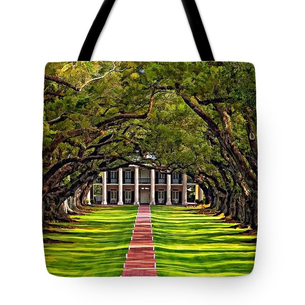 Oak Alley Tote Bag