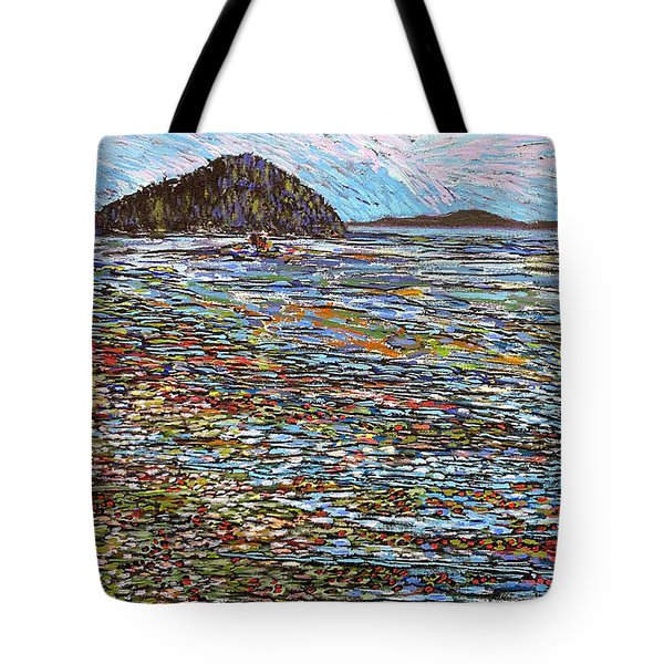 Oak Bay - Low Tide Tote Bag