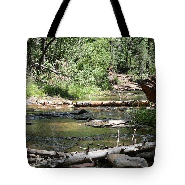 Oak Creek Canyon 5 Tote Bag by Grant Washburn