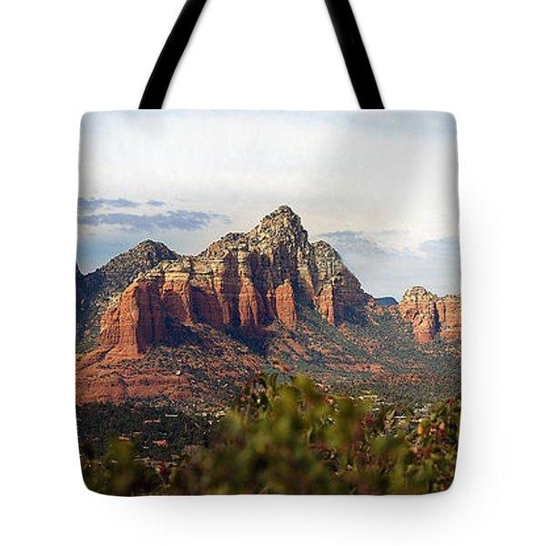 Oak Creek Canyon Sedona Pan Tote Bag by Jeff Brunton