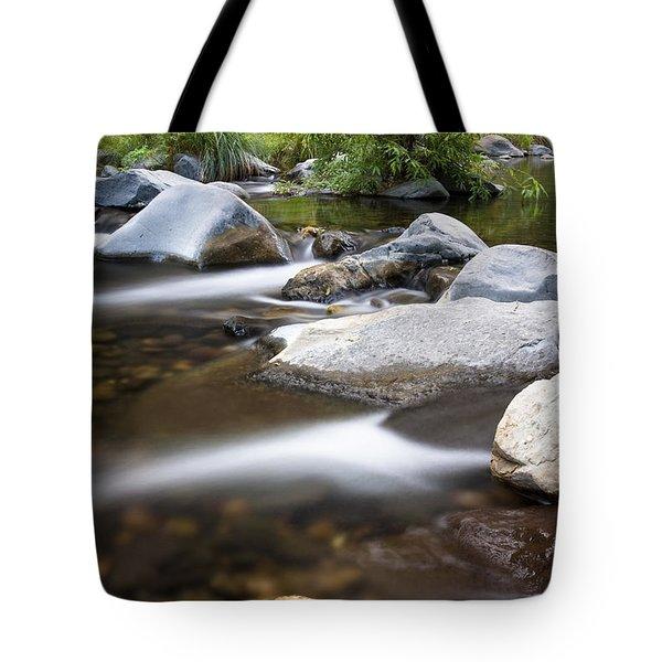 Oak Creek Flowing Tote Bag