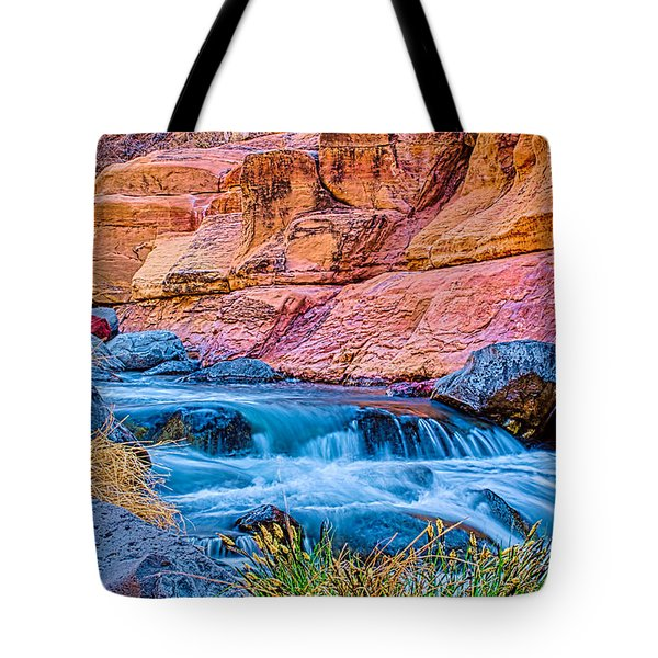 Oak Creek In The Spring Tote Bag