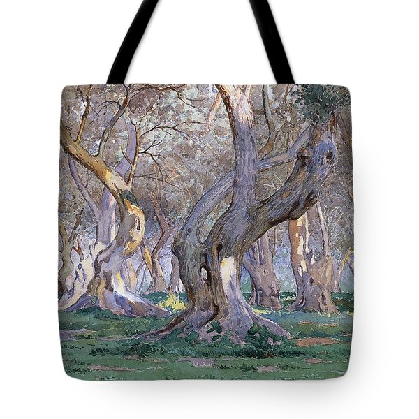 Oak Grove Tote Bag by Gunnar Widforss