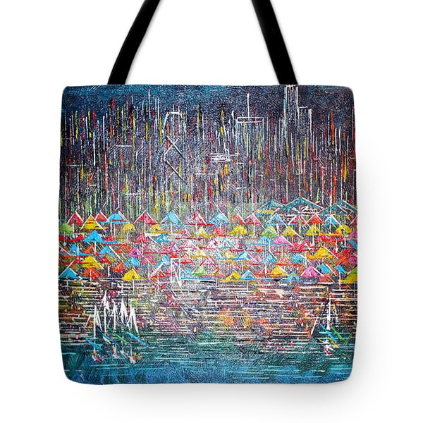 Oak Street Beach Chicago II -sold Tote Bag