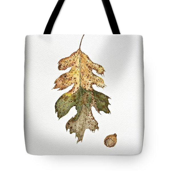 Tote Bag featuring the painting Oak Study by Michele Myers