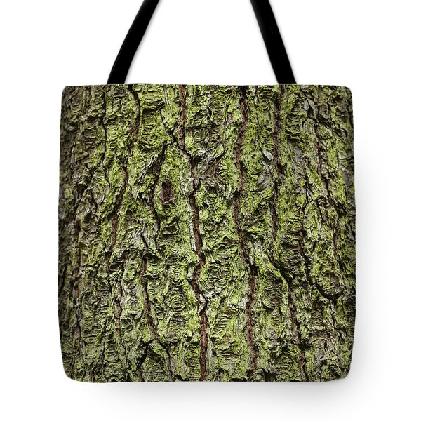 Oak With Lichen Tote Bag