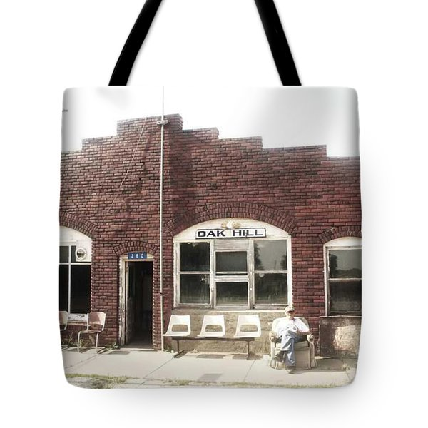 Oakhill Kansas Downtown Tote Bag