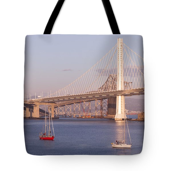 Oakland Bridge Tote Bag