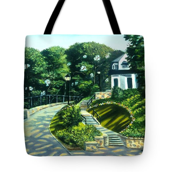 Oakridge In Forest Park Tote Bag
