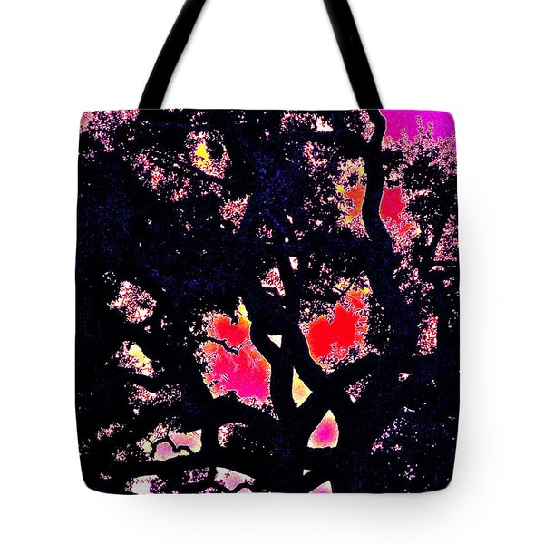 Tote Bag featuring the photograph Oaks 10 by Pamela Cooper