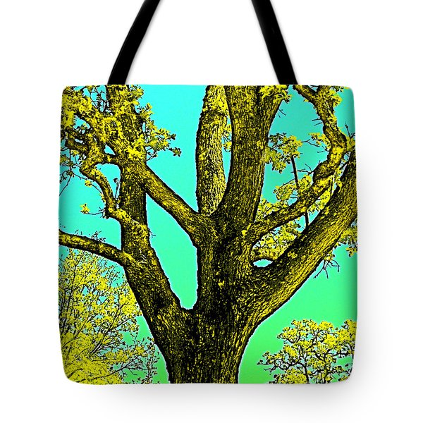 Tote Bag featuring the photograph Oaks 3 by Pamela Cooper