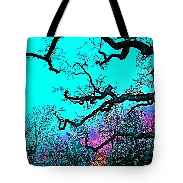 Tote Bag featuring the photograph Oaks 4 by Pamela Cooper