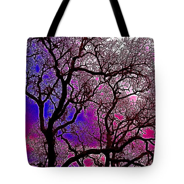 Tote Bag featuring the photograph Oaks 6 by Pamela Cooper
