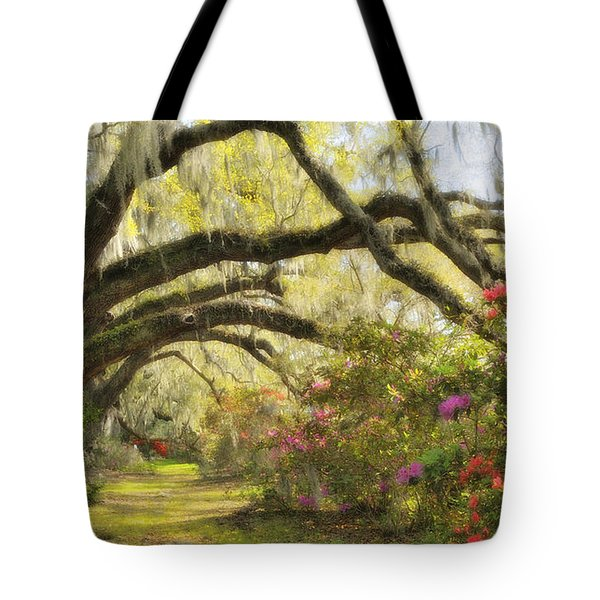 Oaks And Azaleas Tote Bag