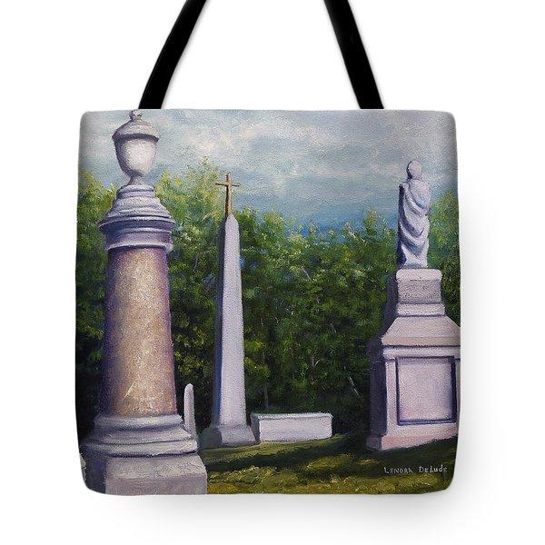 Oakwood Cemetery Jefferson Texas Tote Bag by Lenora  De Lude