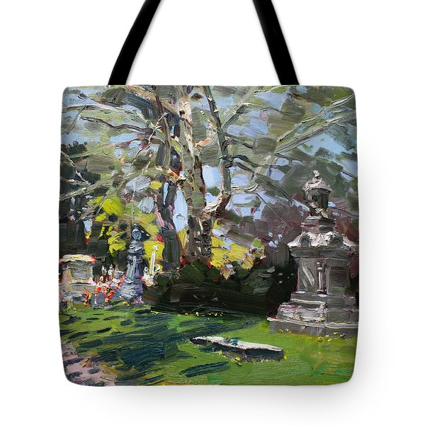 Oakwood Cemetery Tote Bag