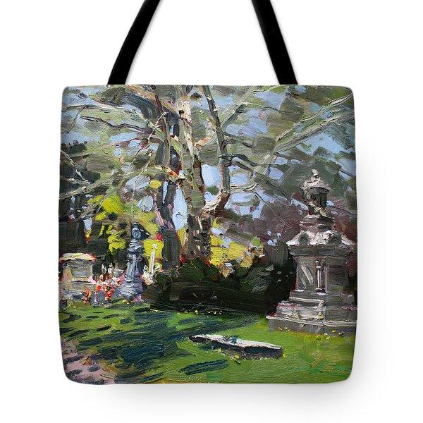 Oakwood Cemetery Tote Bag