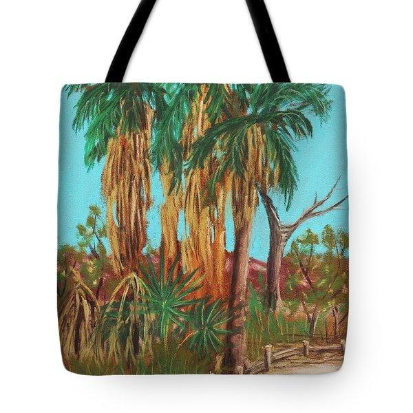 Oasis Tote Bag by Anastasiya Malakhova