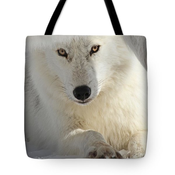 Obedience Tote Bag by Heather King