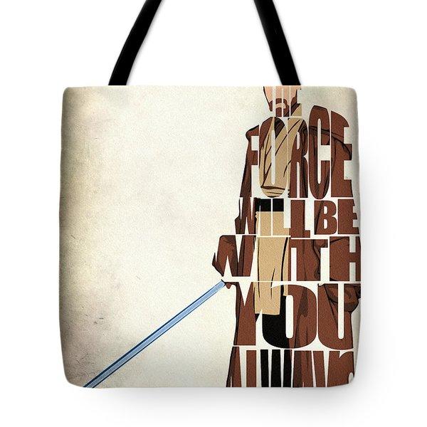 Obi-wan Kenobi - Ewan Mcgregor Tote Bag