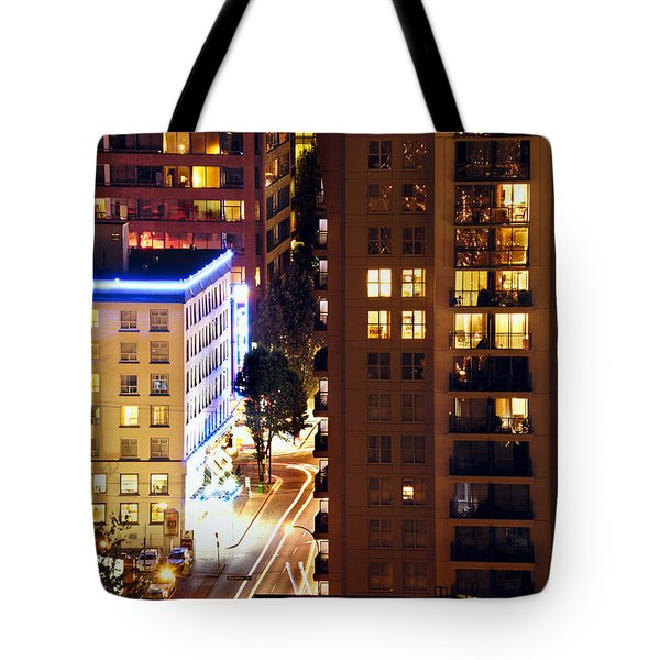 Tote Bag featuring the photograph Observation - Man In Window Dclxxxi by Amyn Nasser