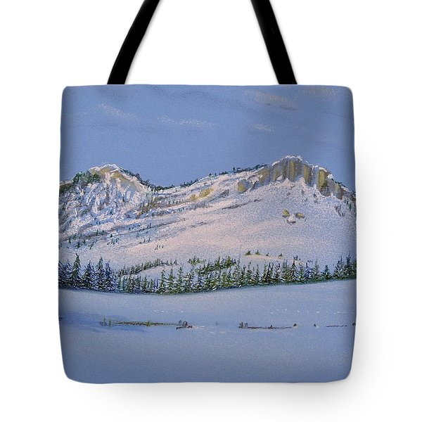Observation Peak Tote Bag
