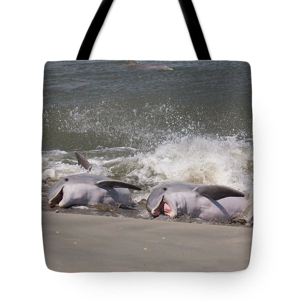 Observing Calf Tote Bag
