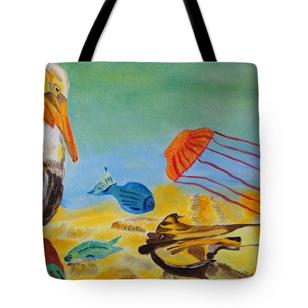 Observing Options Tote Bag by Meryl Goudey