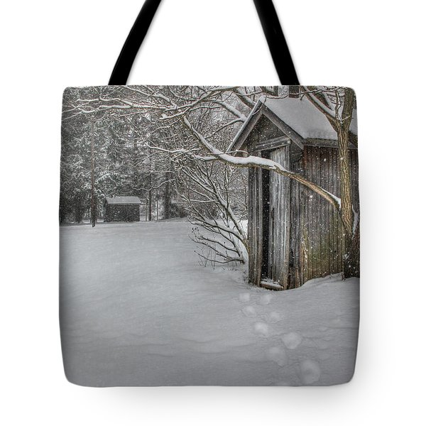 Occupied Tote Bag by Lori Deiter