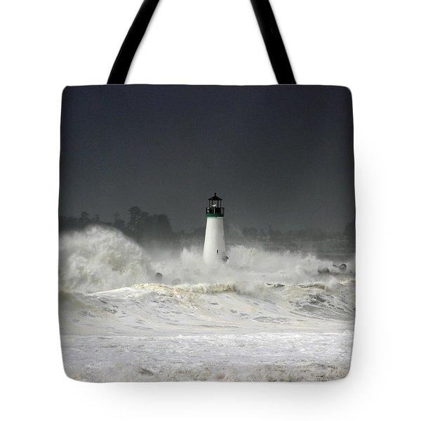 Ocean A Fury Tote Bag