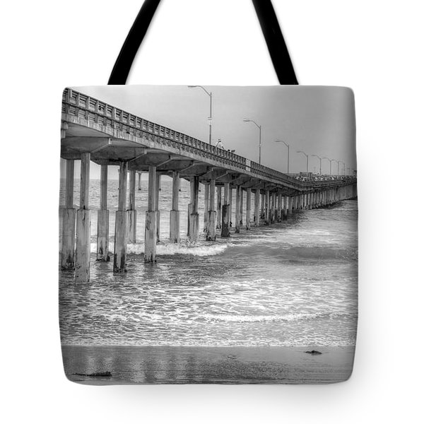 Ocean Beach Pier Tote Bag