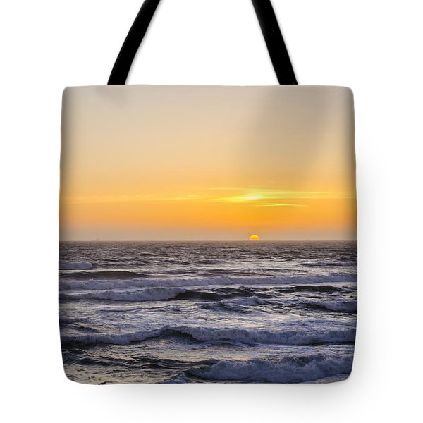 Ocean Beach Sunset Tote Bag