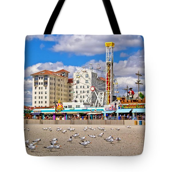 Ocean City View Tote Bag