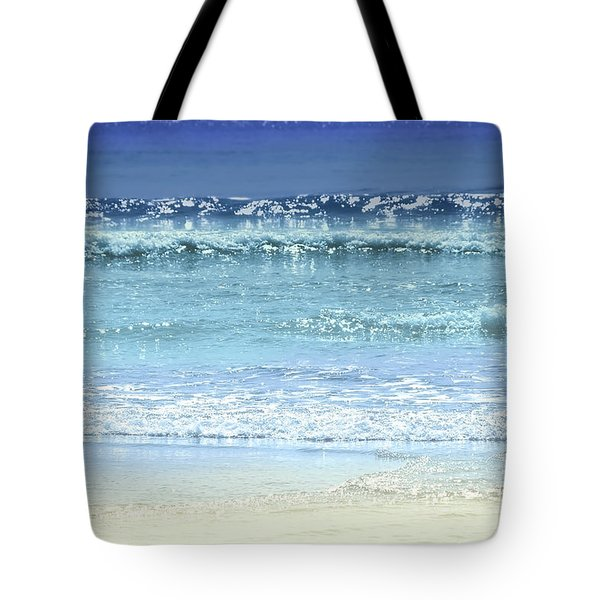 Ocean Colors Abstract Tote Bag